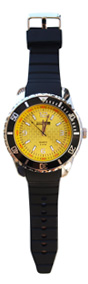 watch grand deluxe special black n yellow